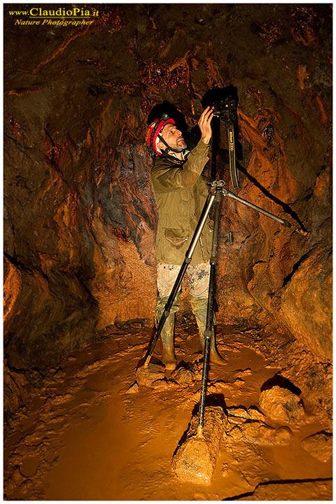 L'arte di arrangiarsi ed adattarsi ad un ambiente insolito. Miniera abbandonata, Val Graveglia