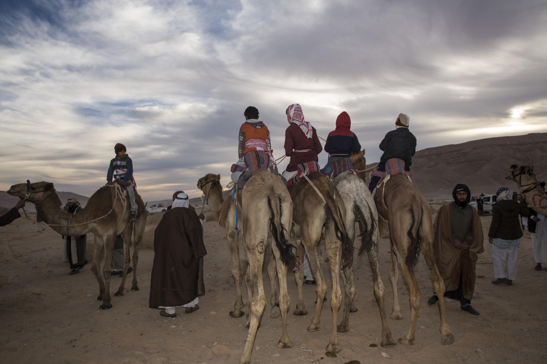 Partenza Camel Race, Wadi Zalaqa