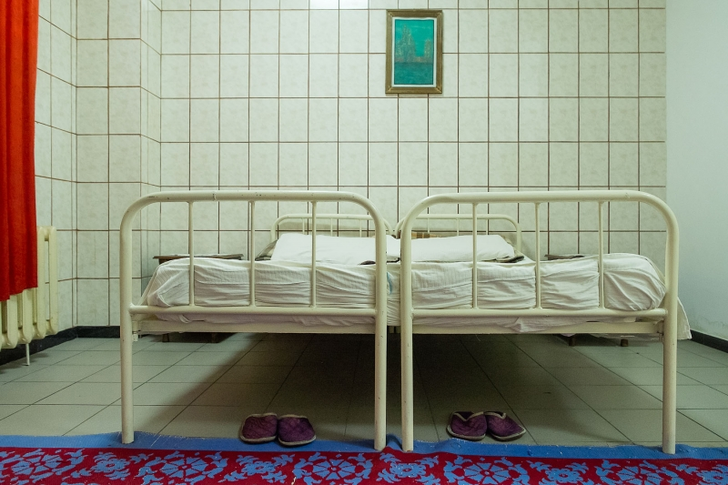 Intimate Room, Targsor Penitentiary, Romania, 2011