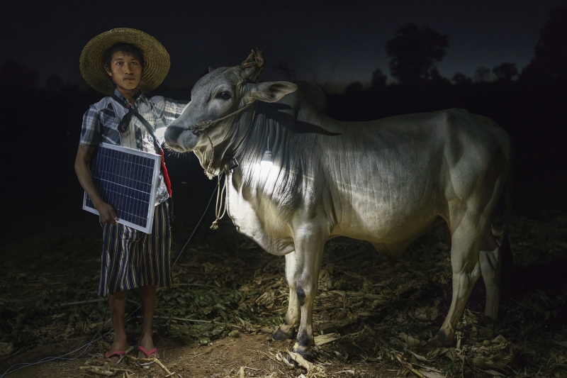 Solar Portraits in Myanmar