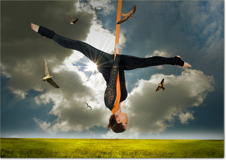 Antigravity-yoga