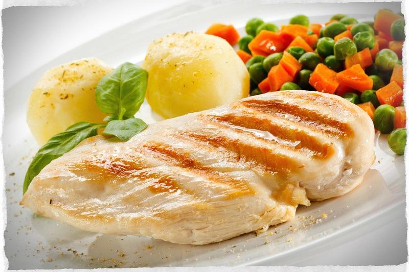 dieta solo pollo e pesce