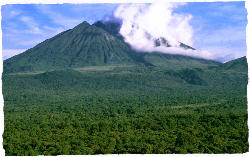 vulcano Mikeno