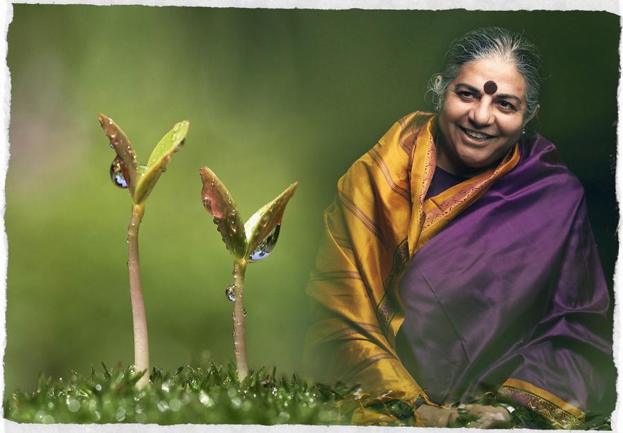 vandana shiva Dr vandana shiva is a philosopher, environmental activist and eco feminist she  is the founder/director of navdanya research foundation, the.