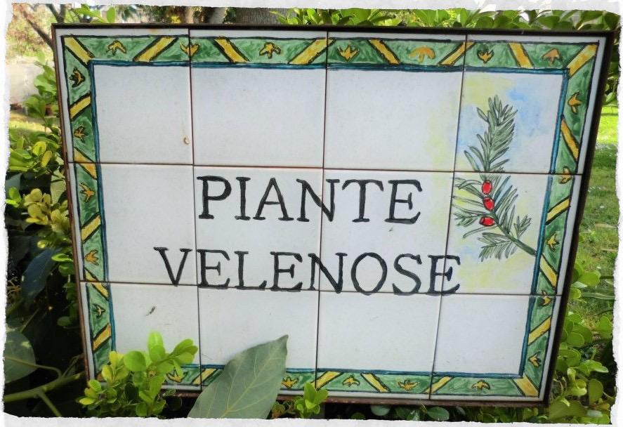 piante velenose
