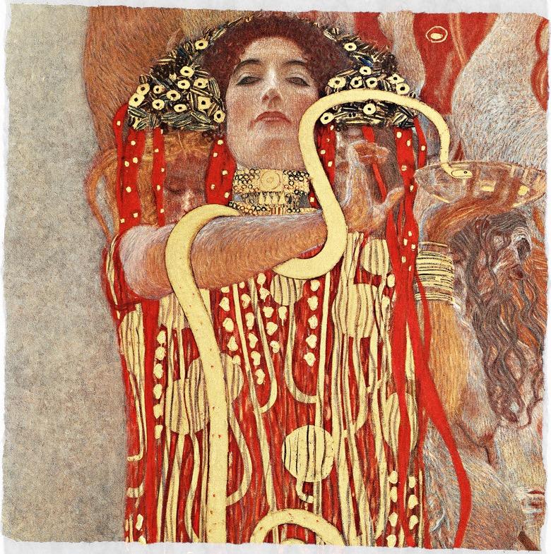 Hygeia Gustav Klimt