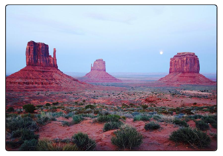 Fenomeni erosivi nella Monument Valley